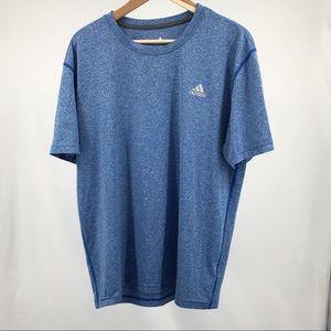 Adidas Climalite Men's Blue T-Shirt Sz XL